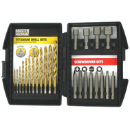Disston 647372 Master Mechanic 24 Piece Drill And Driver Set
