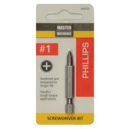 Master Mechanic 504753 #1 Phillips Screwdriver Bit