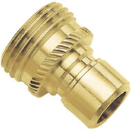 Fiskars 09QCMGT Green Thumb Quick Connector Male Brass