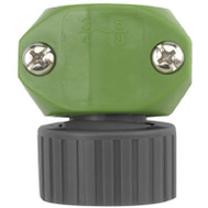 Fiskars 31FGTB Green Thumb Poly Female Hose Coupler 5/8 Inch And 3/4 Inch