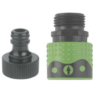Fiskars 39QCGT Green Thumb Quick Connector Faucet Connector Set