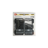 Master Mechanic 287794 29 Piece Black Oxide Drill Bit Set 1/16 To 1/2 By 64Ths