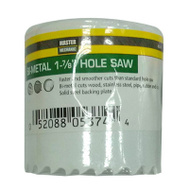 Disston 853374 Master Mechanic 1-7/8 Inch Bi-Metal Hole Saw 1-1/2 Inch Deep