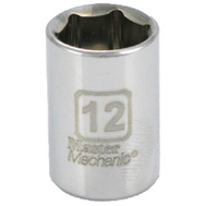 Apex Tool Group 213212 Master Mechanic 1/4 Inch Drive 12Mm 6 Point Socket