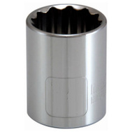 Apex Tool Group 105452 Master Mechanic 1/2 Inch Drive 1 Inch 12 Point Socket