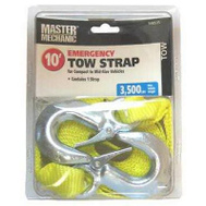 Max MM44 Master Mechanic 1 7/8 Inch By 10 Foot Tow Strap