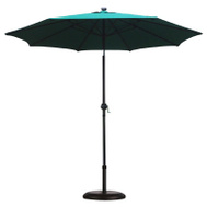 Four Seasons ECO908DE-P09 FS 9 Foot HGRN LED Umbrella