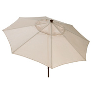 J&J Global 851001 Four Seasons Fs 9 Foot Bge Led Umbrella