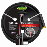 Teknor Apex 8650-100 Green Thumb 5/8 Inch By 100 Foot Black Rubber Hose