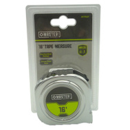 Apex Tool Group 217927 Master Mechanic Tape Measure 16 Foot By 3/4 Inch Chrome