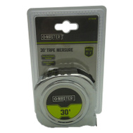 Apex Tool Group 217929 Master Mechanic Tape Measure 30 Foot By 1 Inch Chrome