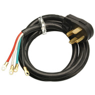 HWG Kintron 09156ME Master Electrician 6 Foot 10/4 Black Dryer Cord