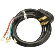 HWG Kintron 09154ME Master Electrician 4 Foot 10/4 Black Dryer Cord