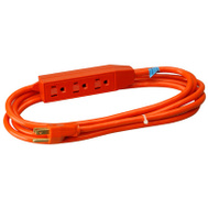 HWG Kintron 04003ME Master Electrician 3 Foot 16/3 3 Outlet Extension Cord