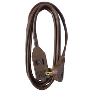 HWG Kintron 09407ME Master Electrician 7 Foot 16/2 Brown Extension Cord