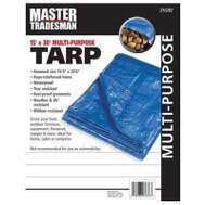 Kaps Tex KT-MT15308 15 By 30 Foot Blue Tarp Cover