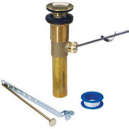 Brass Craft 829-066 Master Plumber Polished Brass Pop Up Assembly