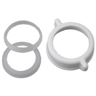Brass Craft 829-054 Master Plumber 1-1/4 Or 1-1/2 Inch Tube White Plastic Nut And Washer