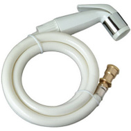 Brass Craft 822-483 Master Plumber White Sink Sprayer With Hose