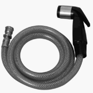 Brass Craft 682-545 Master Plumber Black Sink Sprayer And Hose