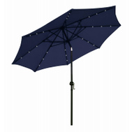 Four Seasons ECO908DE-P04 FS 9 Foot NAVY LED Umbrella