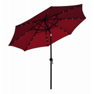 Four Seasons ECO908DE-P81 FS 9 Foot RED LED Umbrella