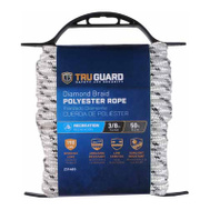 Richelieu America 642791 Tru Guard 3/8 Inch By 50 Feet Polyester Rope 150 Pound Rated