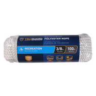 Richelieu America 642801 Tru Guard 3/8 Inch By 100 Feet Polyester Rope 150 Pound Rated