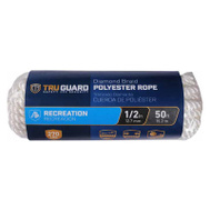 Richelieu America 642811 Tru Guard 1/2 Inch By 50 Feet Polyester Rope 265 Pound Rated