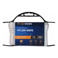 Mibro Group (The) 642161 1/8X100 WHT Nyl Rope
