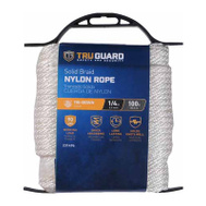 Mibro Group (The) 642201 1/4X100 WHT Nyl Rope