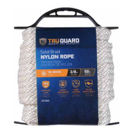 Richelieu America 642211 Tru Guard 3/8 Inch By 50 Feet White Nylon Rope 190 Pound Rated
