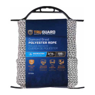 Richelieu America 642761 Tru Guard 3/16 Inch By 100 Feet Polyester Rope 70 Pound Rated