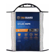Richelieu America 642191 Tru Guard 1/4 Inch By 50 Feet Nylon-Polyester Rope 70 Pound Rated