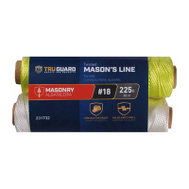 Richelieu America 642361 #18 By 225 Feet Neon Yellow Twisted Nylon Mason Line 8 Pound Rated 2 Pack