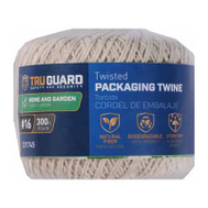 Richelieu America 641961 Tru Guard Twisted Cotton #9 By 300 Feet Parcel Twine 2 Pound Rated