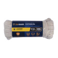 Richelieu America 641901 Tru Guard 7/32 Inch By 200 Feet Cotton Clothesline 12 Pound Rated