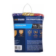 Richelieu America 643551 1/4 Inch By 50 Feet Polypropylene Rope 95 Pound Rated 3 Pack