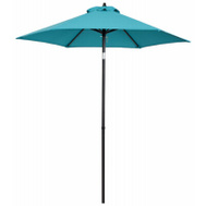 Four Seasons ECO706IT-P33 FS 7 Foot Teal STL Umbrella
