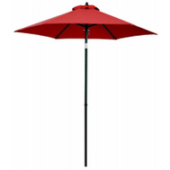 Four Seasons ECO706IT-P81 FS 7 Foot RED STL Umbrella
