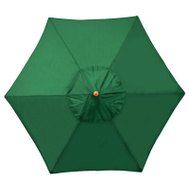 Four Seasons MOW906-P09 FS 9 Foot GRN WD Umbrella
