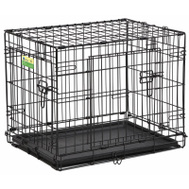Midwest Pets PE-824DD PE 24 Inch 2DR Dog Crate