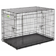 Midwest Pets PE-848DD PE 48 Inch 2DR Dog Crate