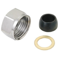 Brass Craft 319-079 Master Plumber 1/2 Inch Faucet Shank Nut With 3/8 Washer