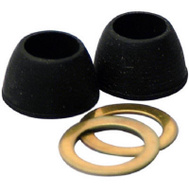 Brass Craft 709-501 Master Plumber Molded Cone Washers With Friction Rings 1/2 Inch By 23/32 Inch