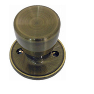 Tru Guard TS840 Tulip Half Dummy Knob Antique Brass