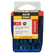 Master Mechanic 129289 MM 18PK 2 Inch #2 Phil Bit