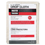 Master Tradesman 58909 MT 6X9 Canvas Dropcloth