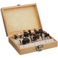 Master Mechanic 159082 12 Piece Router Bit Set