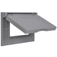 Hubbell 1C-GH Master Electrician Gray Horizontal Gfi Snapcover